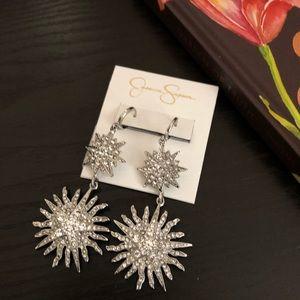 🆕Jessica Simpson Double Star Earrings